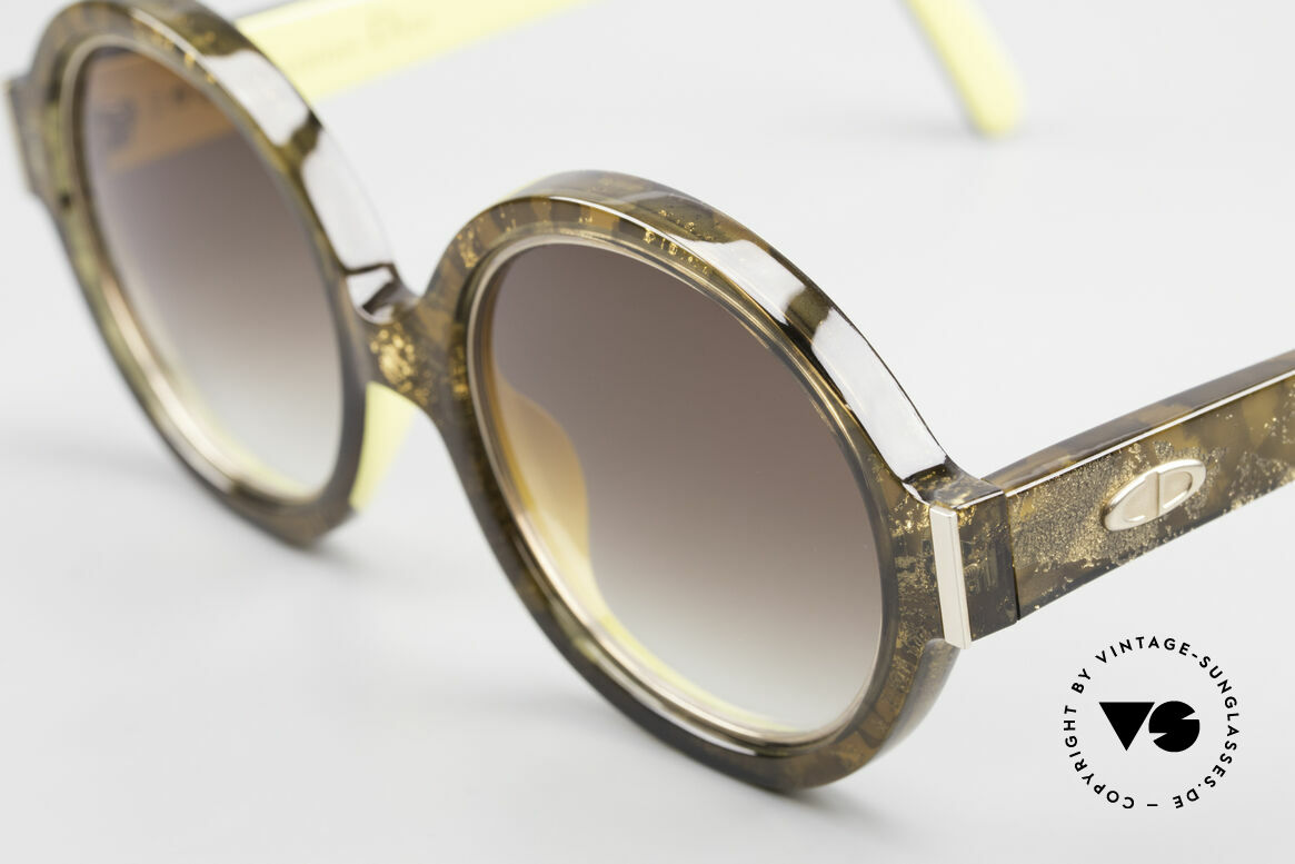 Christian Dior 2446 Round 80's Sunglasses Ladies, sophisticated sunglasses and a true vintage RARITY!, Made for Women