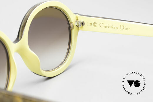 Christian Dior 2446 Round 80's Sunglasses Ladies, NO retro sunglasses, but an app. 35 years old unicum, Made for Women