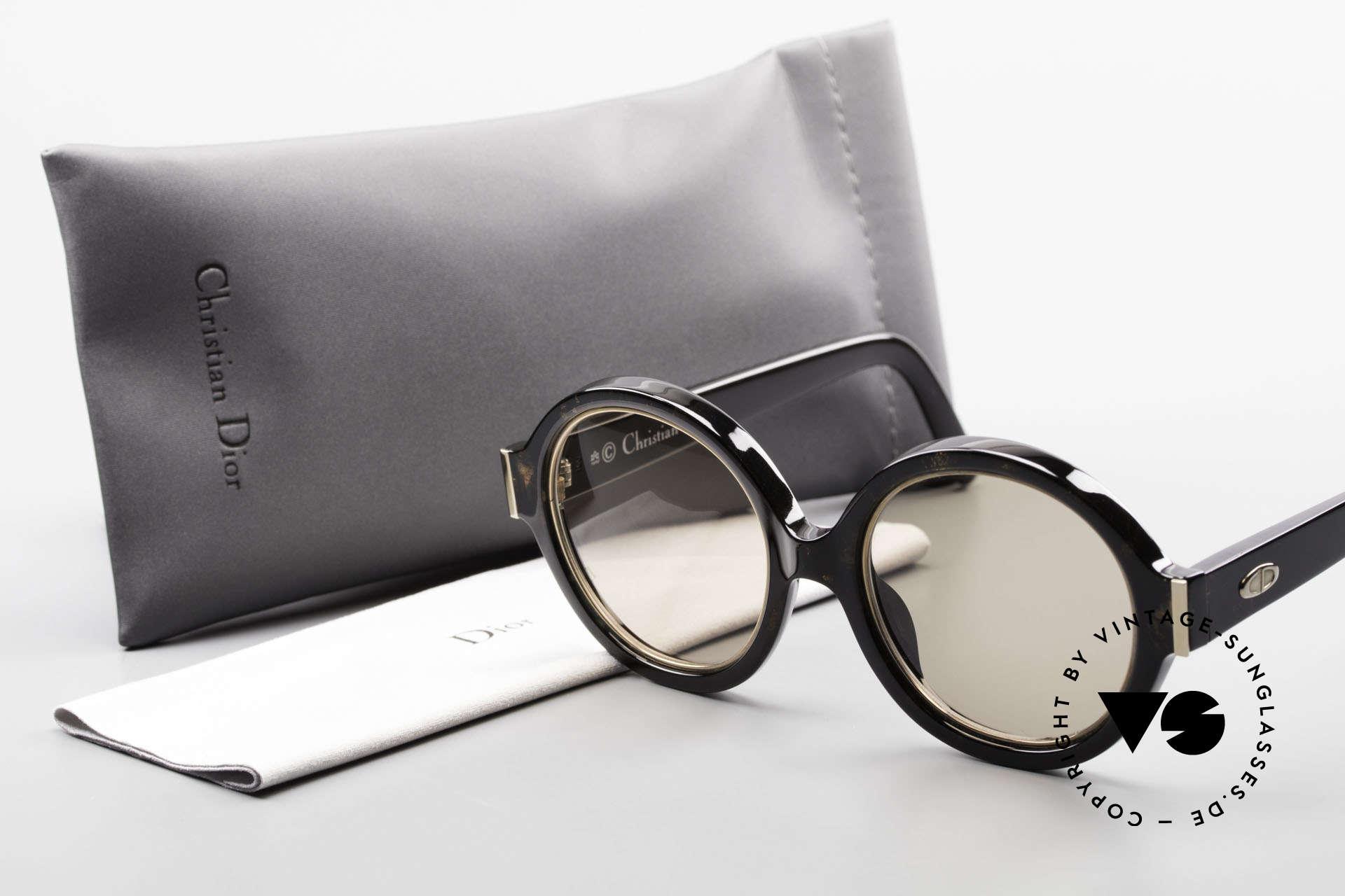 Christian Dior 2446 Round Ladies Sunglasses 80's, Size: medium, Made for Women