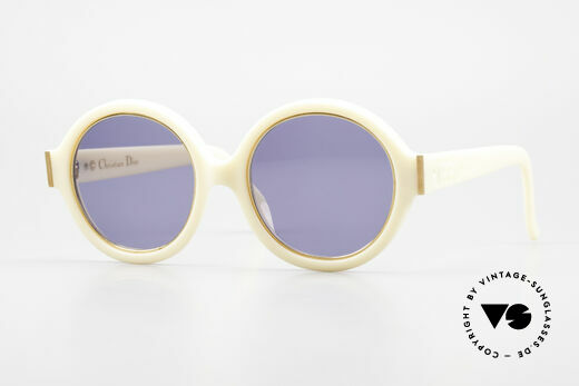 Christian Dior 2446 Round Ladies 80's Sunglasses Details