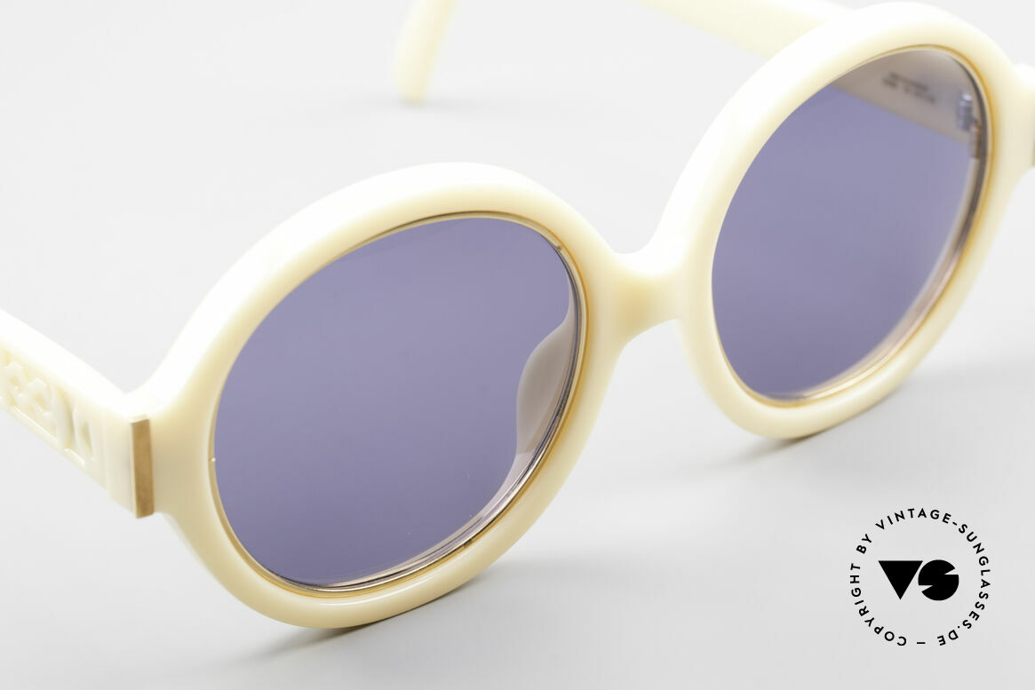 Christian Dior 2446 Round Ladies 80's Sunglasses, new old stock (like all our rare Christian Dior shades), Made for Women