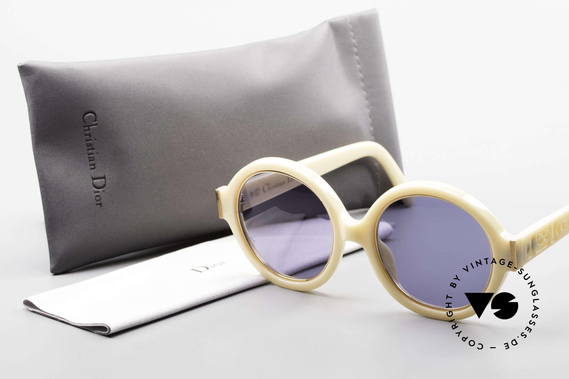 Christian Dior 2446 Round Ladies 80's Sunglasses, Size: medium, Made for Women