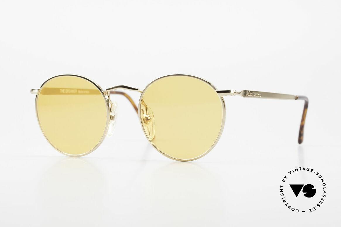 John Lennon - The Dreamer Extra Small Round Sunglasses, vintage glasses of the original 'John Lennon Collection', Made for Men and Women