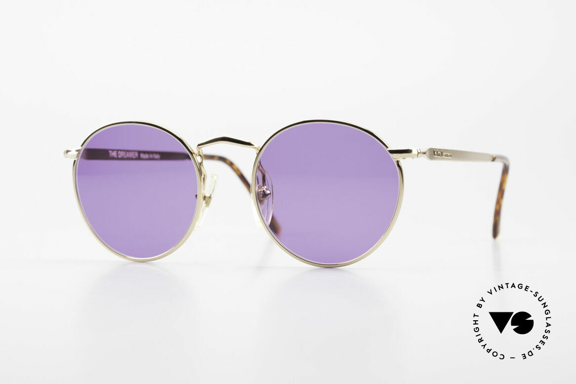 John Lennon - The Dreamer Extra Small Panto Sunglasses, vintage glasses of the original 'John Lennon Collection', Made for Men and Women