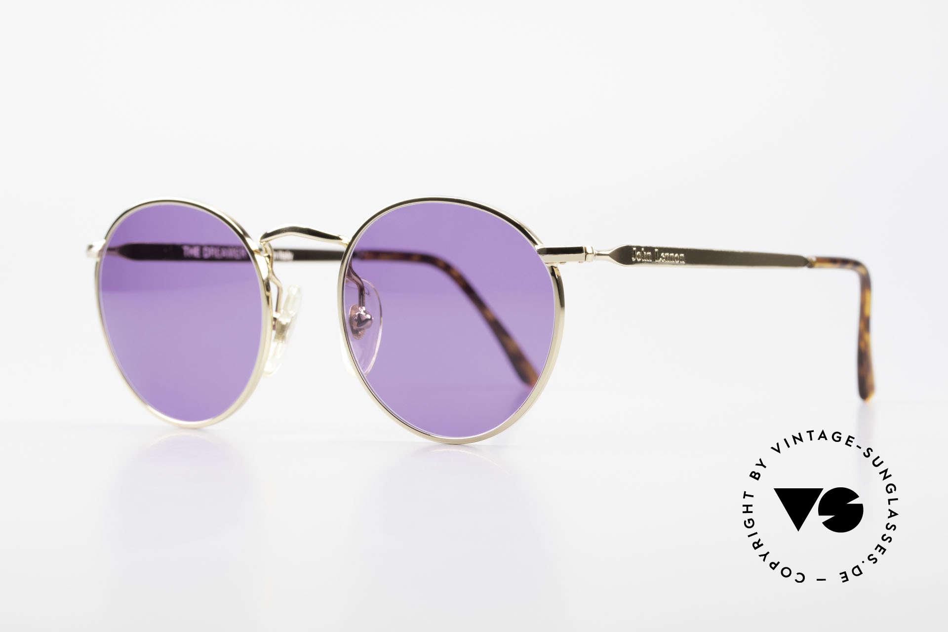 John Lennon - The Dreamer Extra Small Panto Sunglasses, all models named after famous J.Lennon / Beatles songs, Made for Men and Women