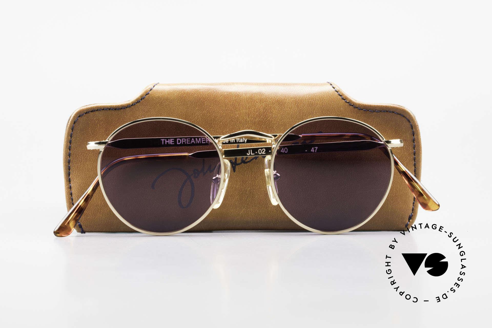 John Lennon - The Dreamer Extra Small Panto Sunglasses, never worn (like all our vintage John Lennon sunglasses), Made for Men and Women