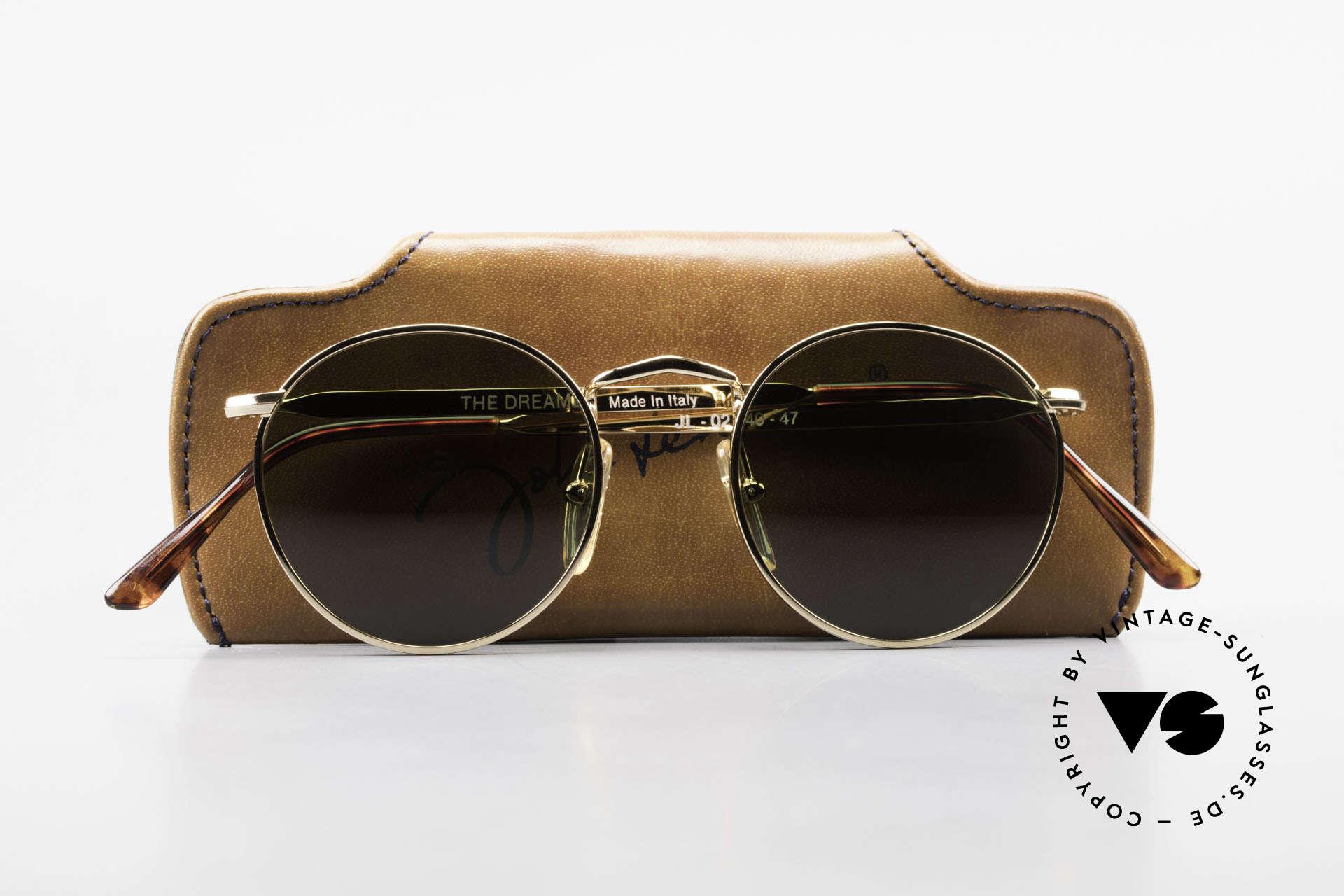 John Lennon - The Dreamer Original JL Collection Glasses, never worn (like all our vintage John Lennon sunglasses), Made for Men and Women