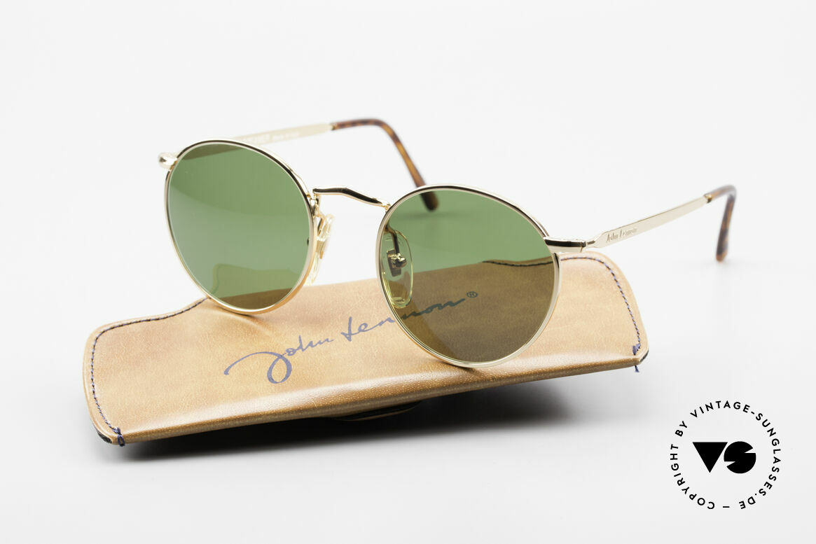 John Lennon - The Dreamer Original JL Collection Glasses, 118mm frame width = EXTRA SMALL fit; 47mm lens size, Made for Men and Women