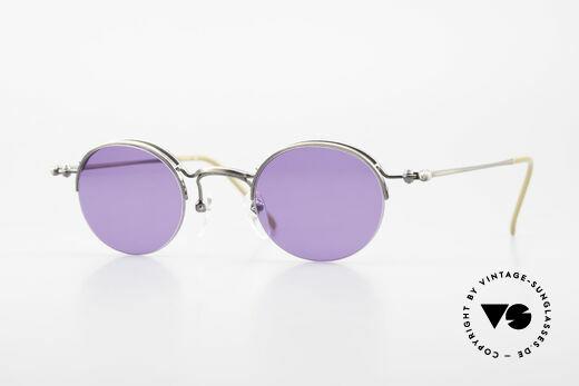 Jean Paul Gaultier 55-7108 Small Panto Sunglasses 90's Details