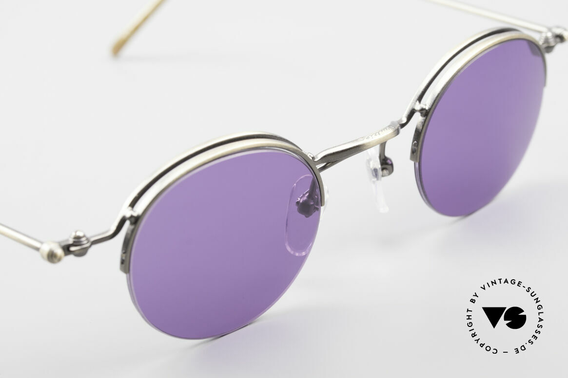 Jean Paul Gaultier 55-7108 Small Panto Sunglasses 90's, NO retro fashion, but an authentic 90's ORIGINAL, Made for Men and Women