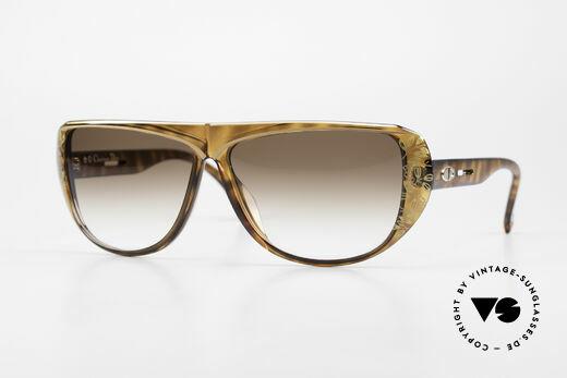 Christian Dior 2421 Ladies Sunglasses 80's Rarity Details