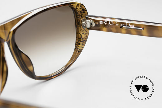 Christian Dior 2421 Ladies Sunglasses 80's Rarity, NO retro sunglasses, but an app. 30 years old unicum, Made for Women