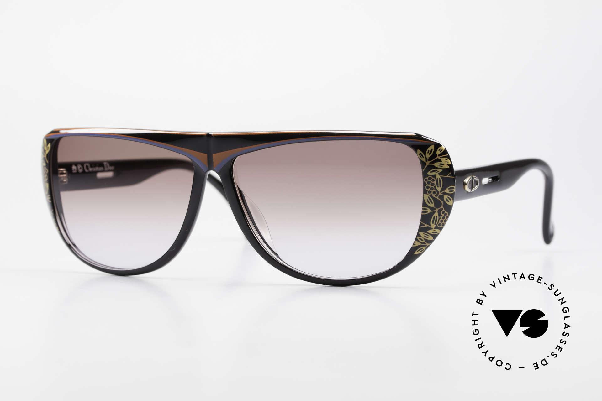 Christian Dior 2421 Ladies Sunglasses 80's Optyl, beautiful Christian Dior ladies sunglasses from 1989, Made for Women