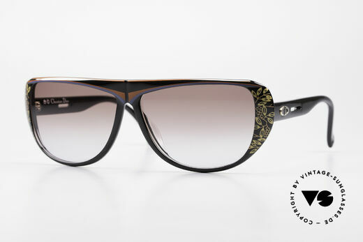Christian Dior 2421 Ladies Sunglasses 80's Optyl Details