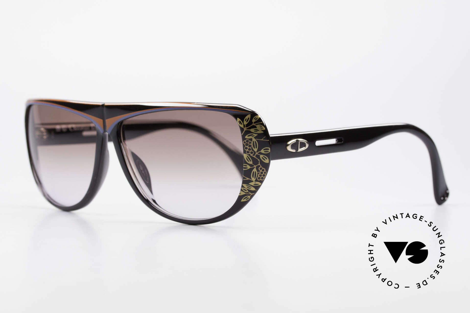 Christian Dior 2421 Ladies Sunglasses 80's Optyl, the incredible OPTYL material does not seem to age, Made for Women