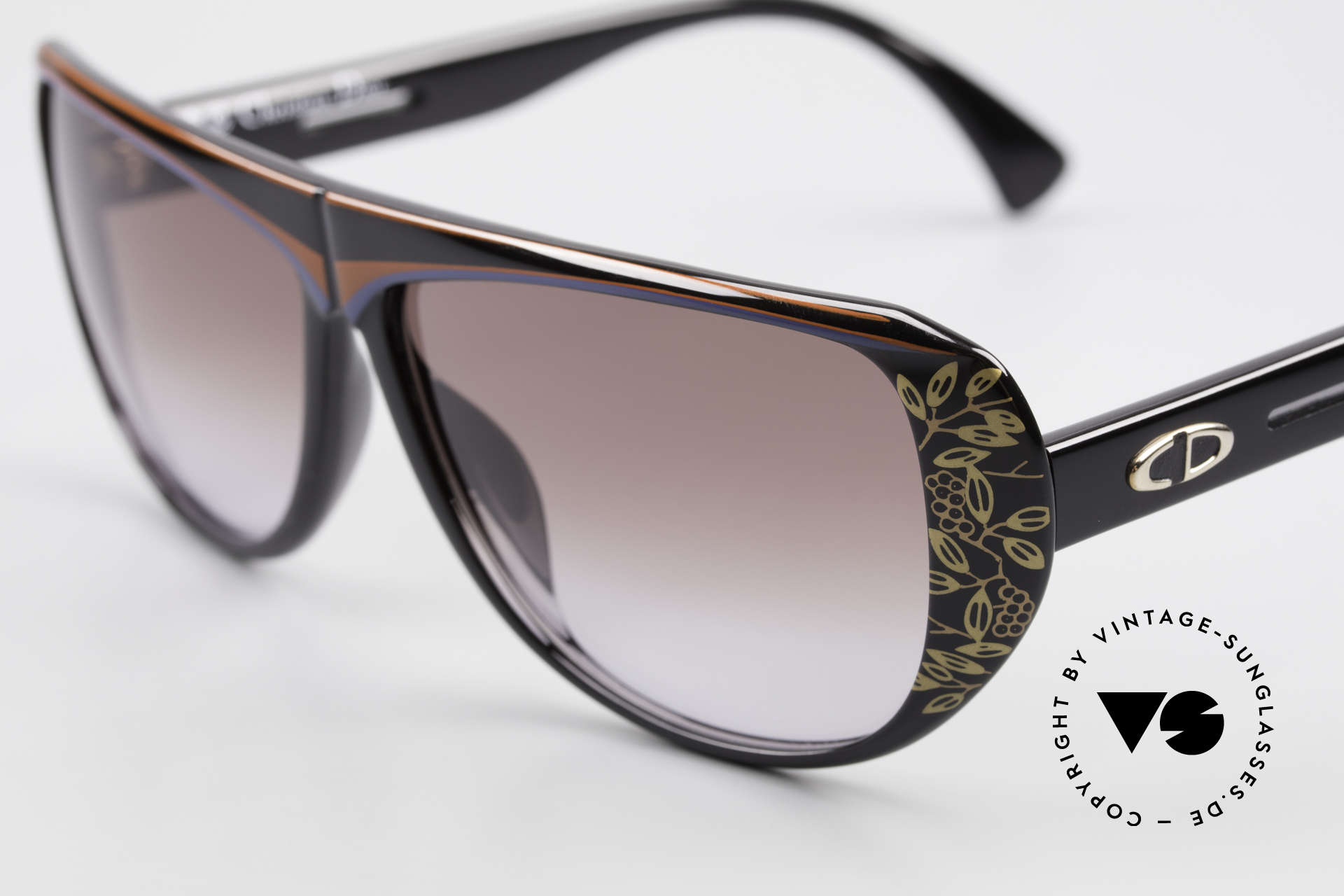 Christian Dior 2421 Ladies Sunglasses 80's Optyl, new old stock (like all our rare Christian Dior shades), Made for Women