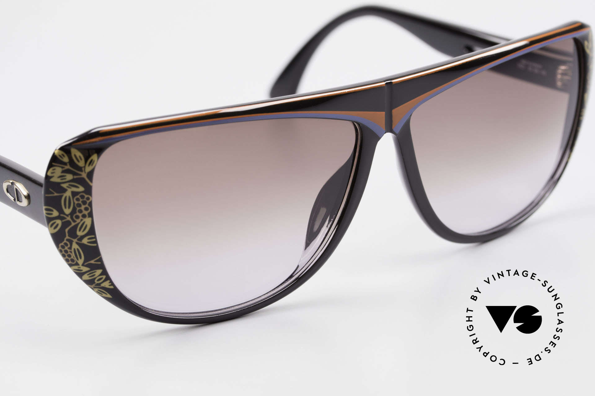 Christian Dior 2421 Ladies Sunglasses 80's Optyl, NO retro sunglasses, but an app. 30 years old unicum, Made for Women