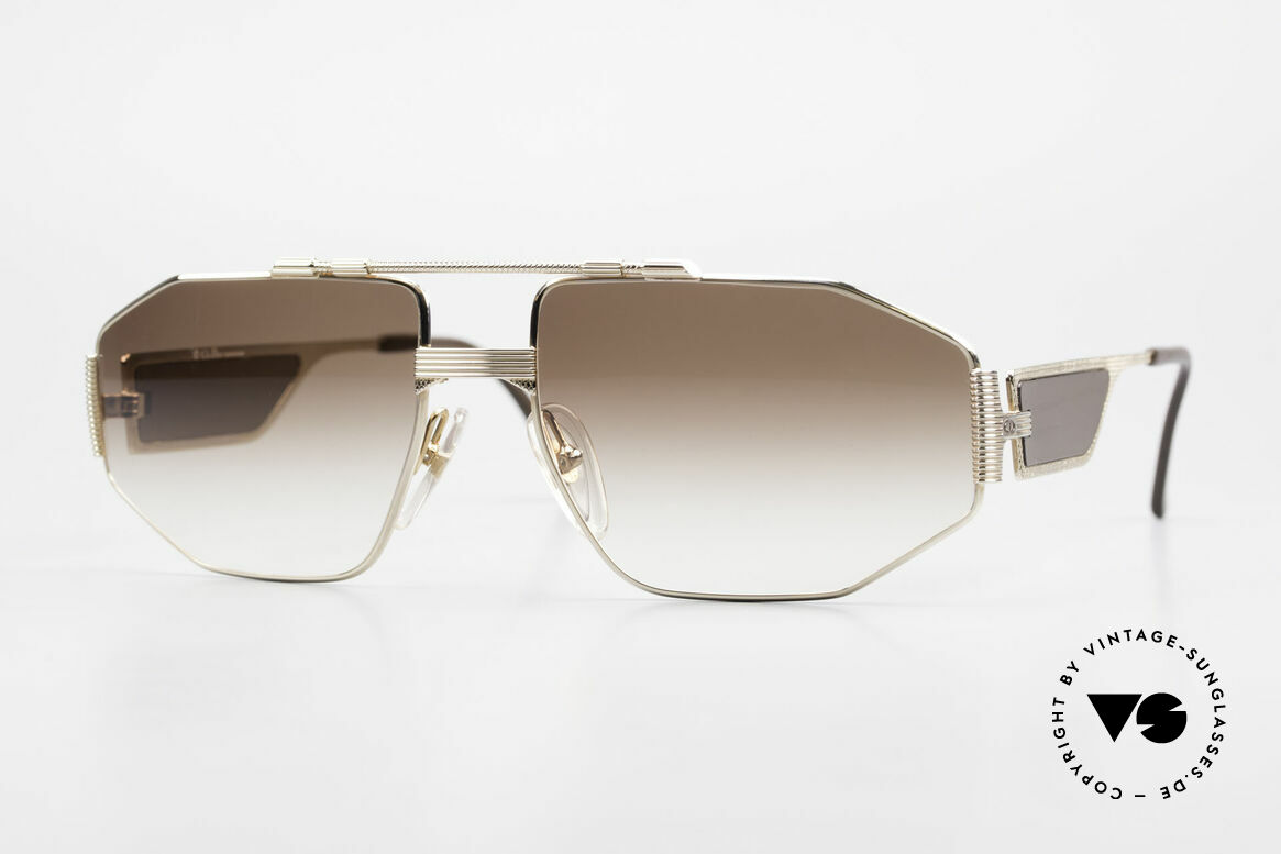 Christian Dior 2427 80's Dior Monsieur Sunglasses, vintage glasses of the Dior Monsieur Series from 1988, Made for Men