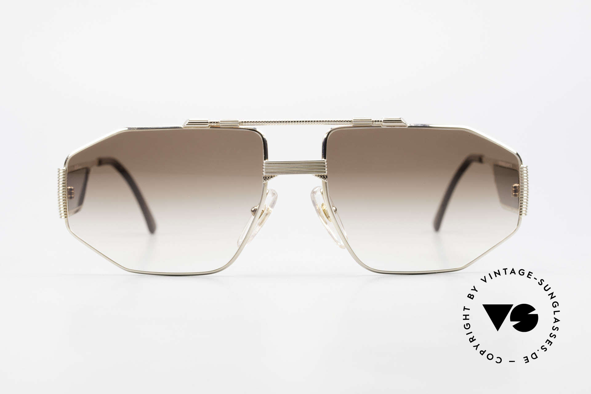 Christian Dior 2427 80's Dior Monsieur Sunglasses, extraordinary temple design; just striking and unique!, Made for Men