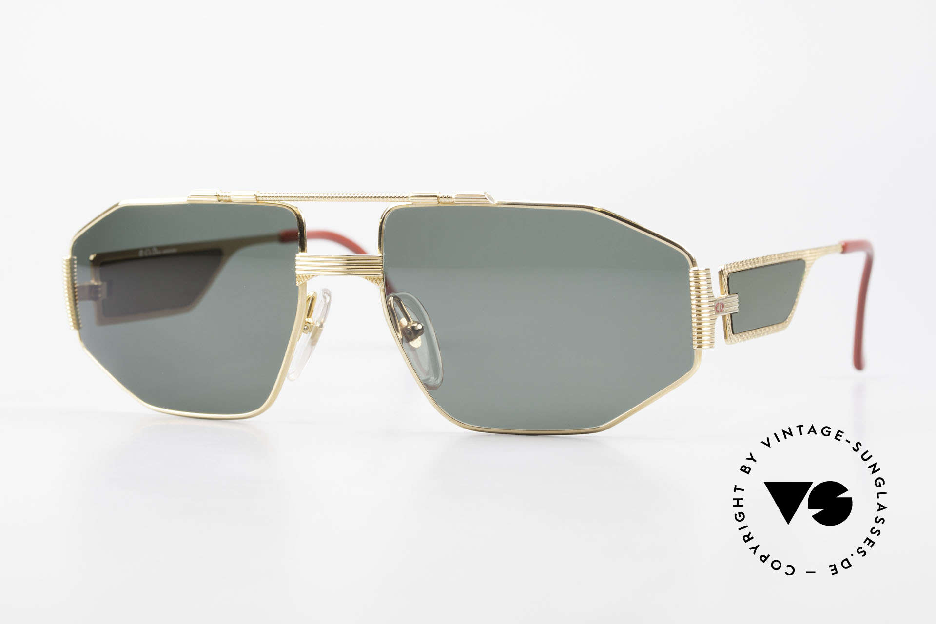 Christian Dior 2427 Dior Monsieur 80's Sunglasses, vintage glasses of the Dior Monsieur Series from 1988, Made for Men
