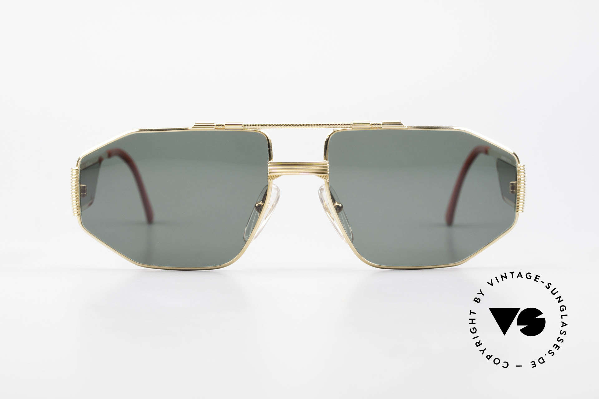 Christian Dior 2427 Dior Monsieur 80's Sunglasses, extraordinary temple design; just striking and unique!, Made for Men
