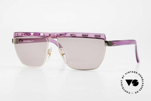Paloma Picasso 3706 Pink Ladies Gem Sunglasses Details