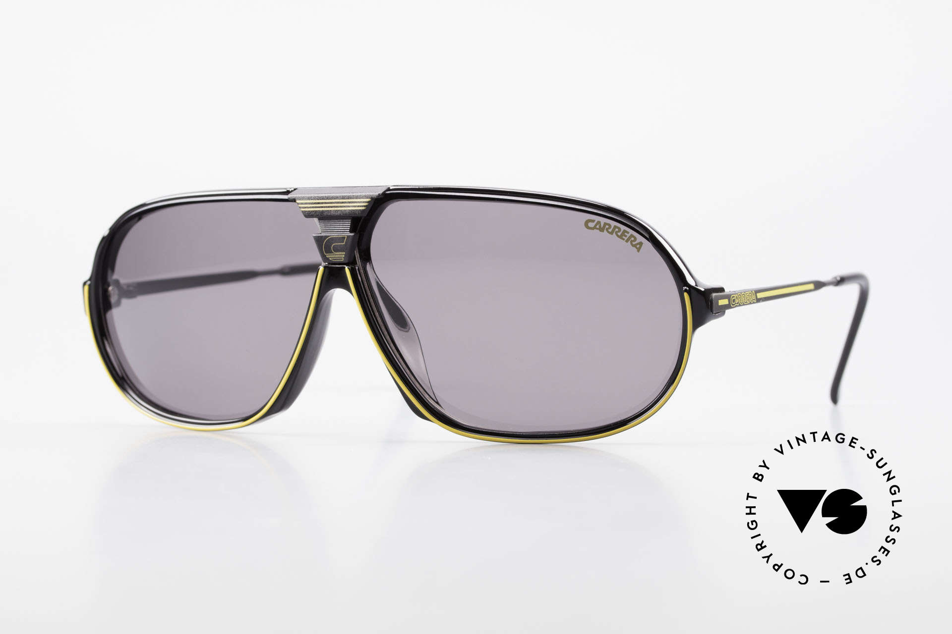 Carrera 5416 80's Sports Sunglasses Optyl, sensational sports shades by Carrera from 1988, Made for Men