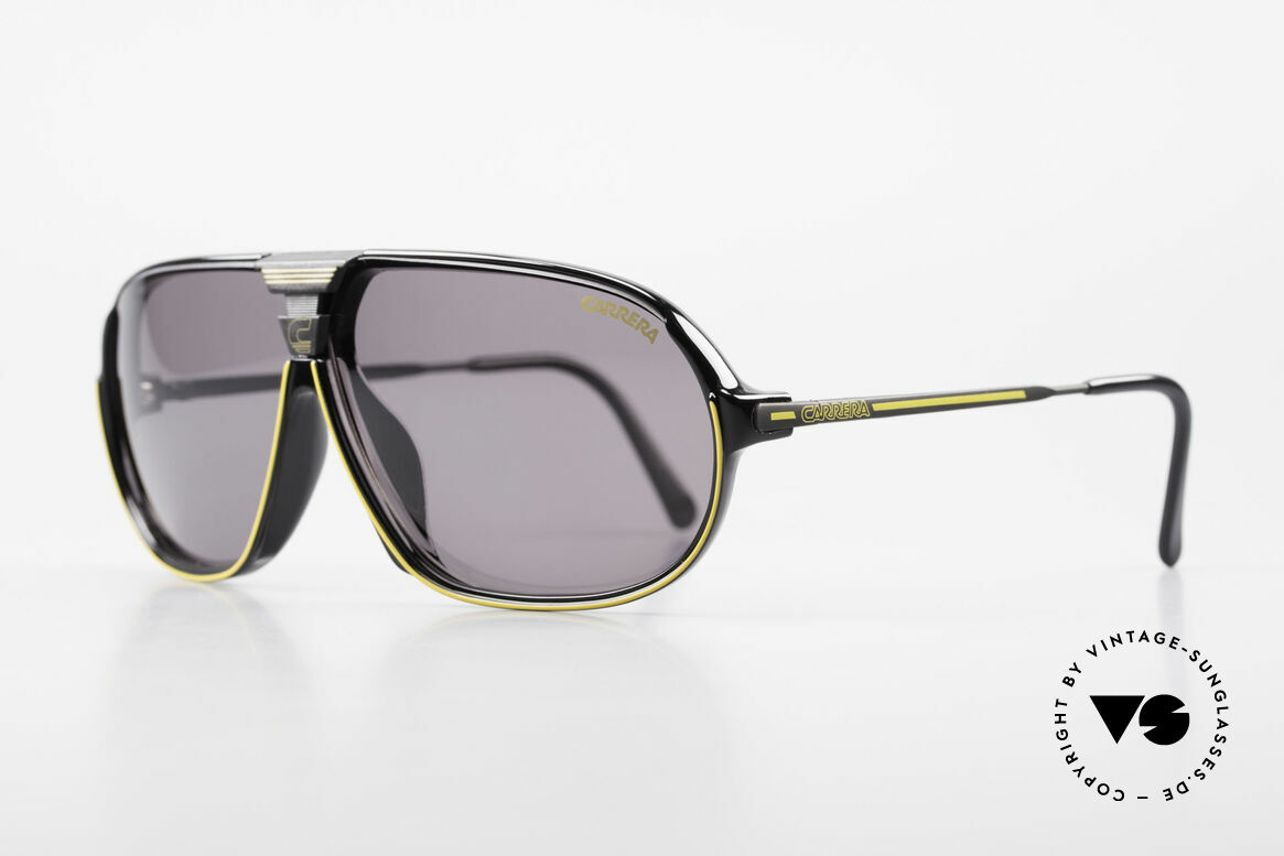 Carrera 5416 80's Sports Sunglasses Optyl, state-of-the-art lenses (2 sets) & with orig. case, Made for Men