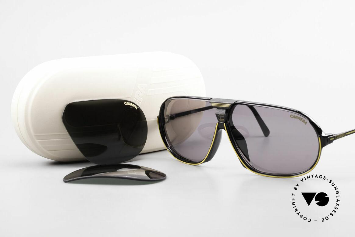 Carrera 5416 80's Sports Sunglasses Optyl, NO RETRO sunglasses; a rare vintage ORIGINAL, Made for Men