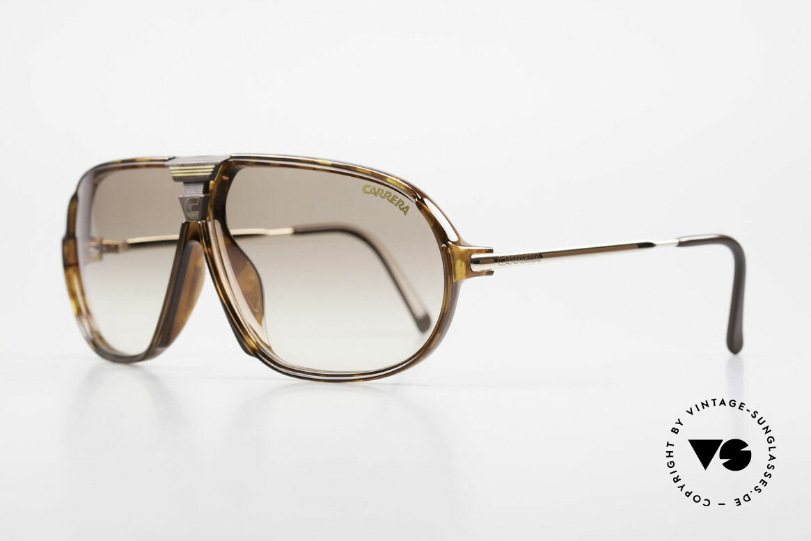 Carrera 5416 80's Shades Additional Lenses, state-of-the-art lenses (2 sets) & with orig. case, Made for Men