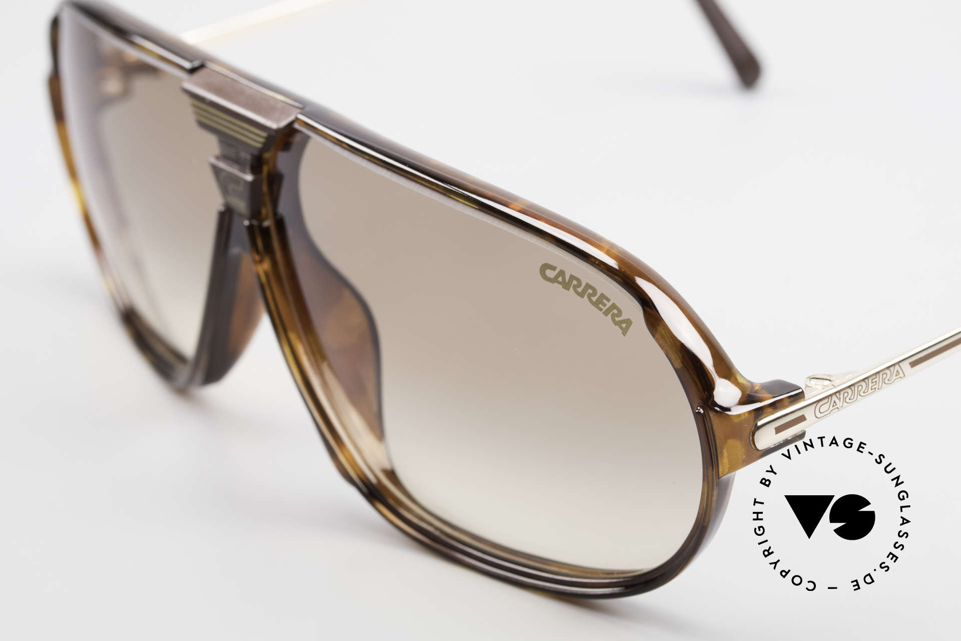 Carrera 5416 80's Shades Additional Lenses, 1x brown-gradient and 1x brown silver mirrored, Made for Men