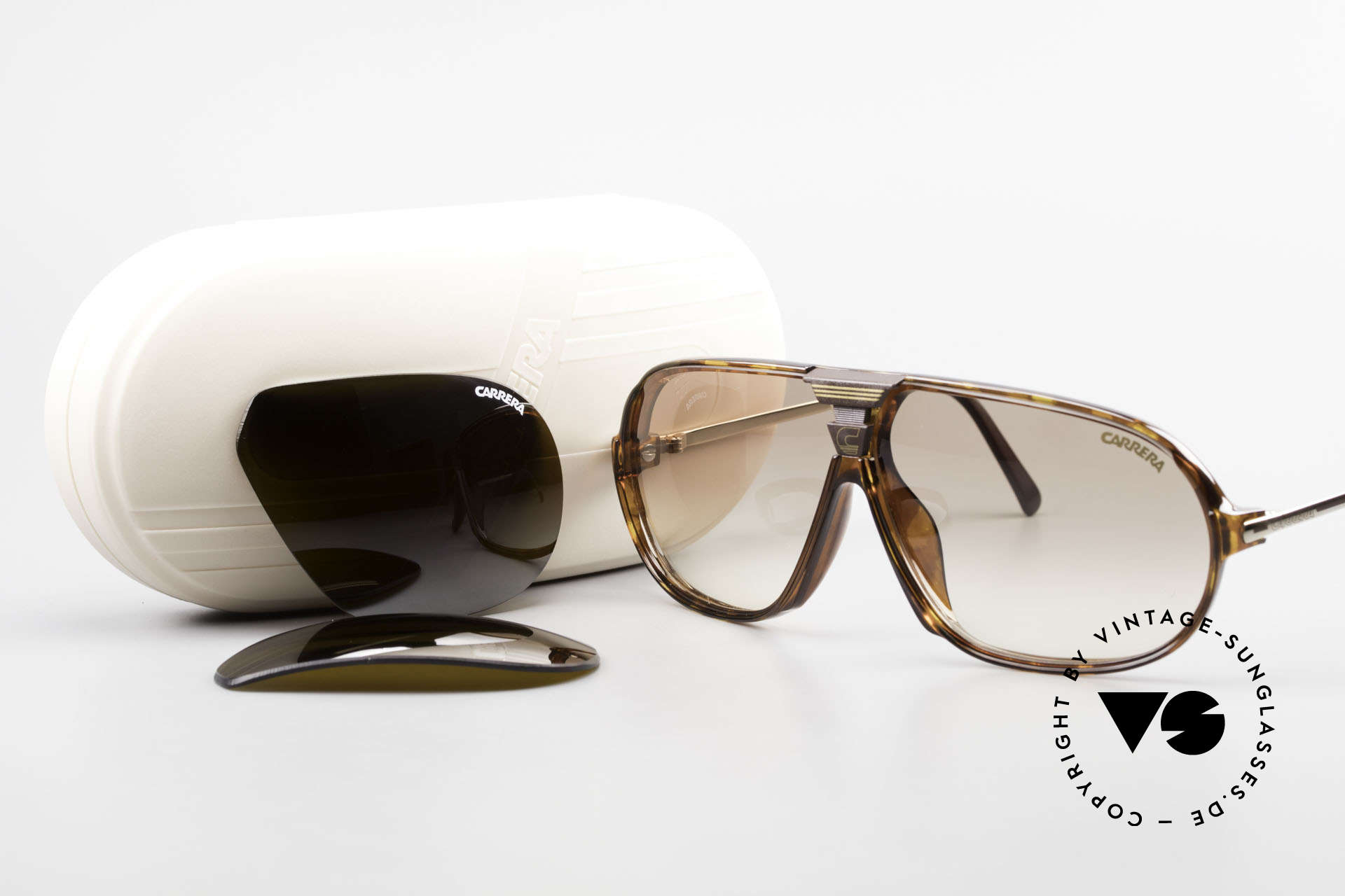 Carrera 5416 80's Shades Additional Lenses, NO RETRO sunglasses; a rare vintage ORIGINAL, Made for Men