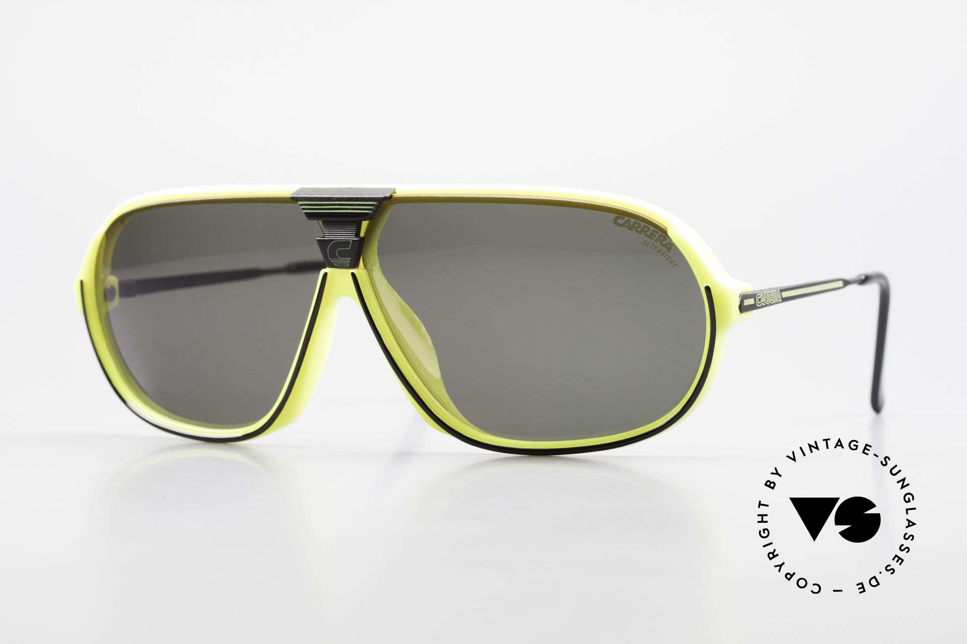 Carrera 5416 80's Shades Polarized Lenses, sensational sports shades by Carrera from 1988, Made for Men