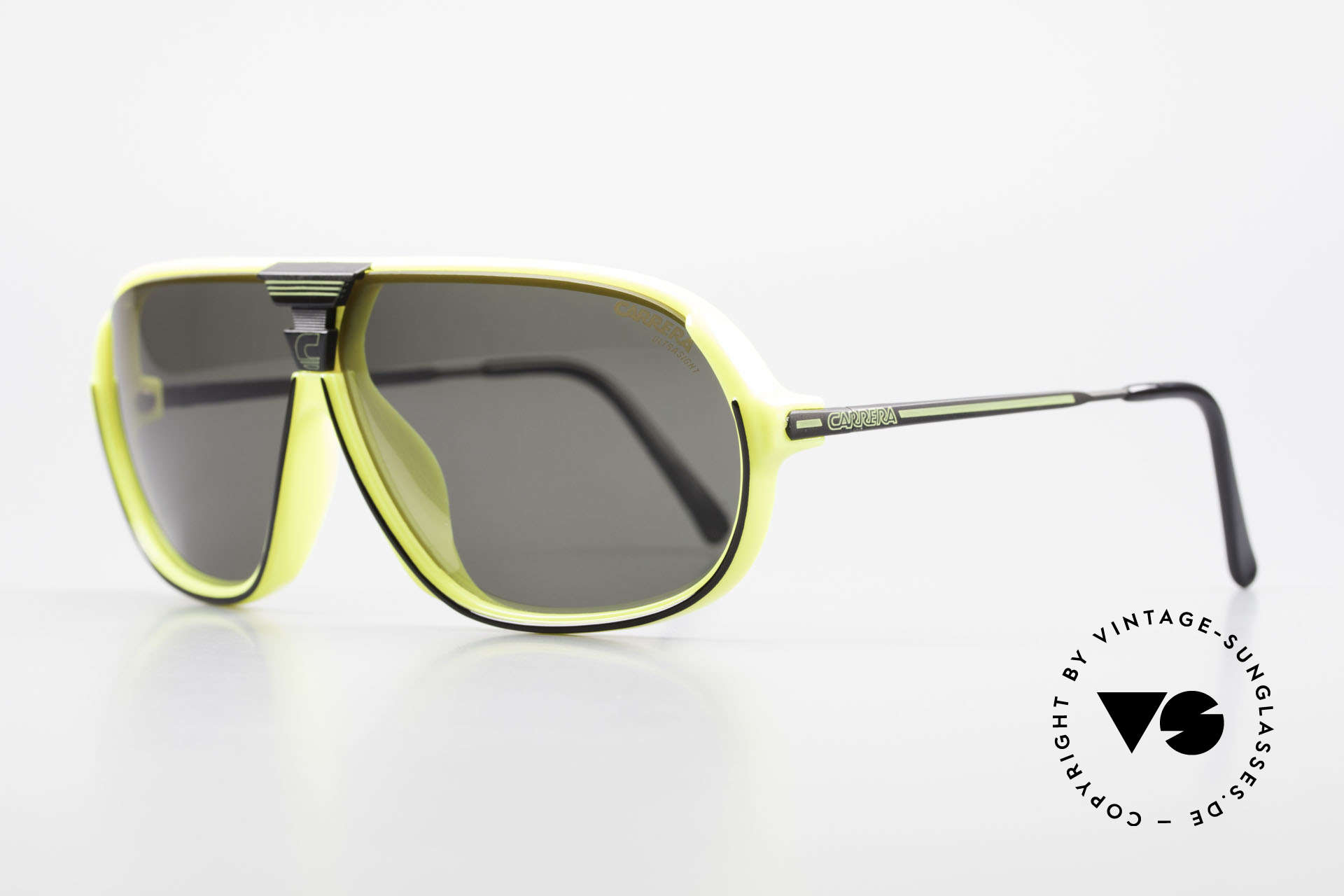 Carrera 5416 80's Shades Polarized Lenses, 1x ULTRAPOL (polarized) and 1x ULTRASIGHT, Made for Men