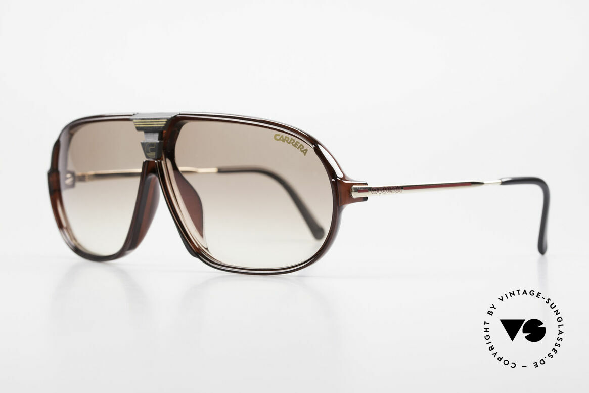 Carrera 5416 80's Interchangeable Lenses, state-of-the-art lenses (2 sets) & with orig. case, Made for Men