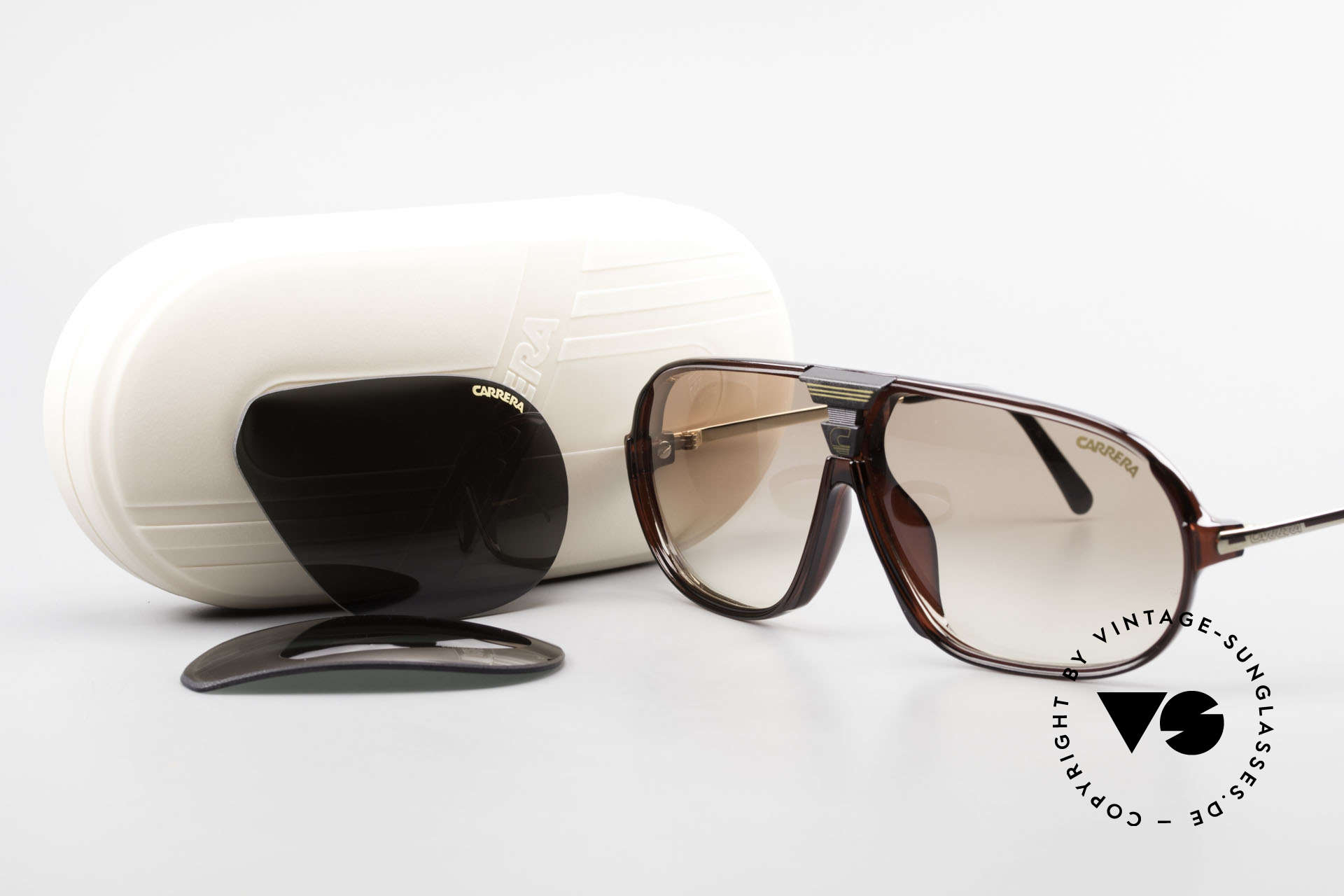 Carrera 5416 80's Interchangeable Lenses, NO RETRO sunglasses; a rare vintage ORIGINAL, Made for Men