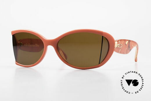 Christian Dior 2439 80's Sunglasses Side Shield Details