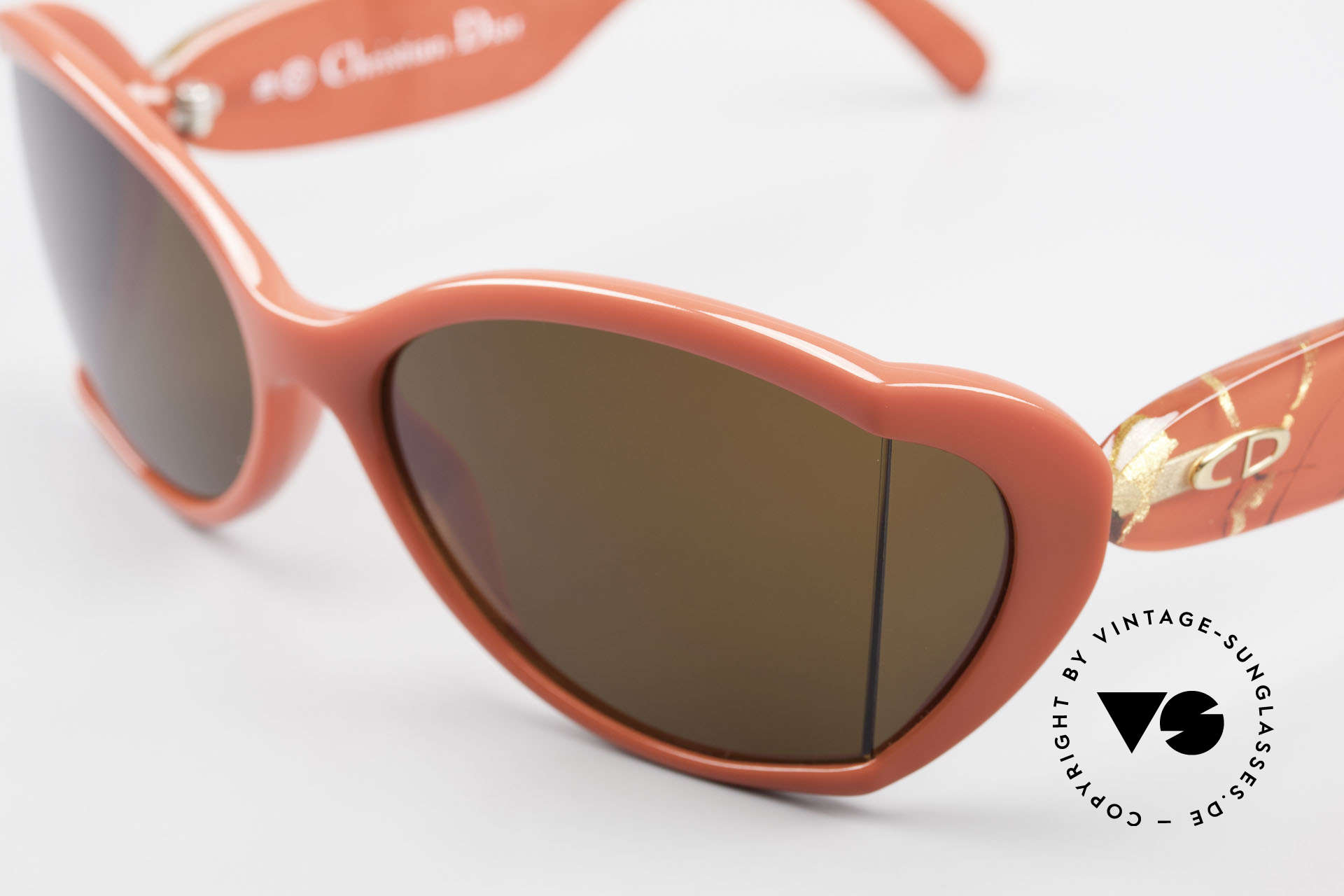 Christian Dior 2439 80's Sunglasses Side Shield, new old stock (like all our rare Christian Dior shades), Made for Women
