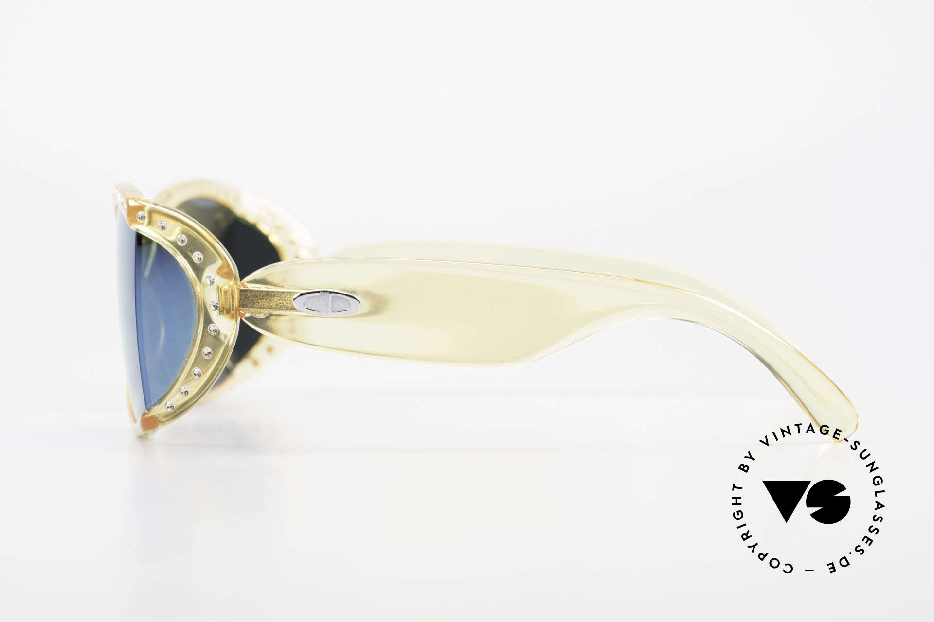 Christian Dior 2439 80's Crystal Sunglasses Gem, new old stock (like all our rare Christian Dior shades), Made for Women