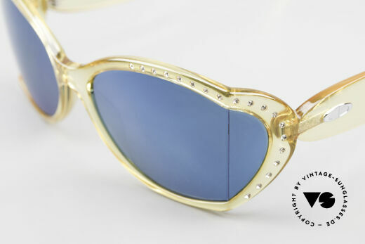 Christian Dior 2439 80's Crystal Sunglasses Gem, NO retro sunglasses, but an app. 30 years old unicum, Made for Women