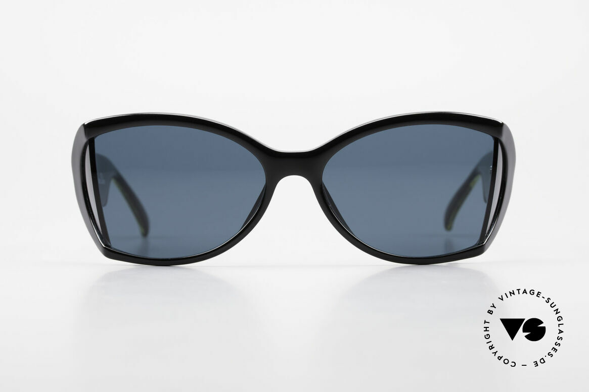 Christian Dior 2439 80's Ladies Shades Side Blinds, glamorous colors & pattern thanks to Optyl material, Made for Women
