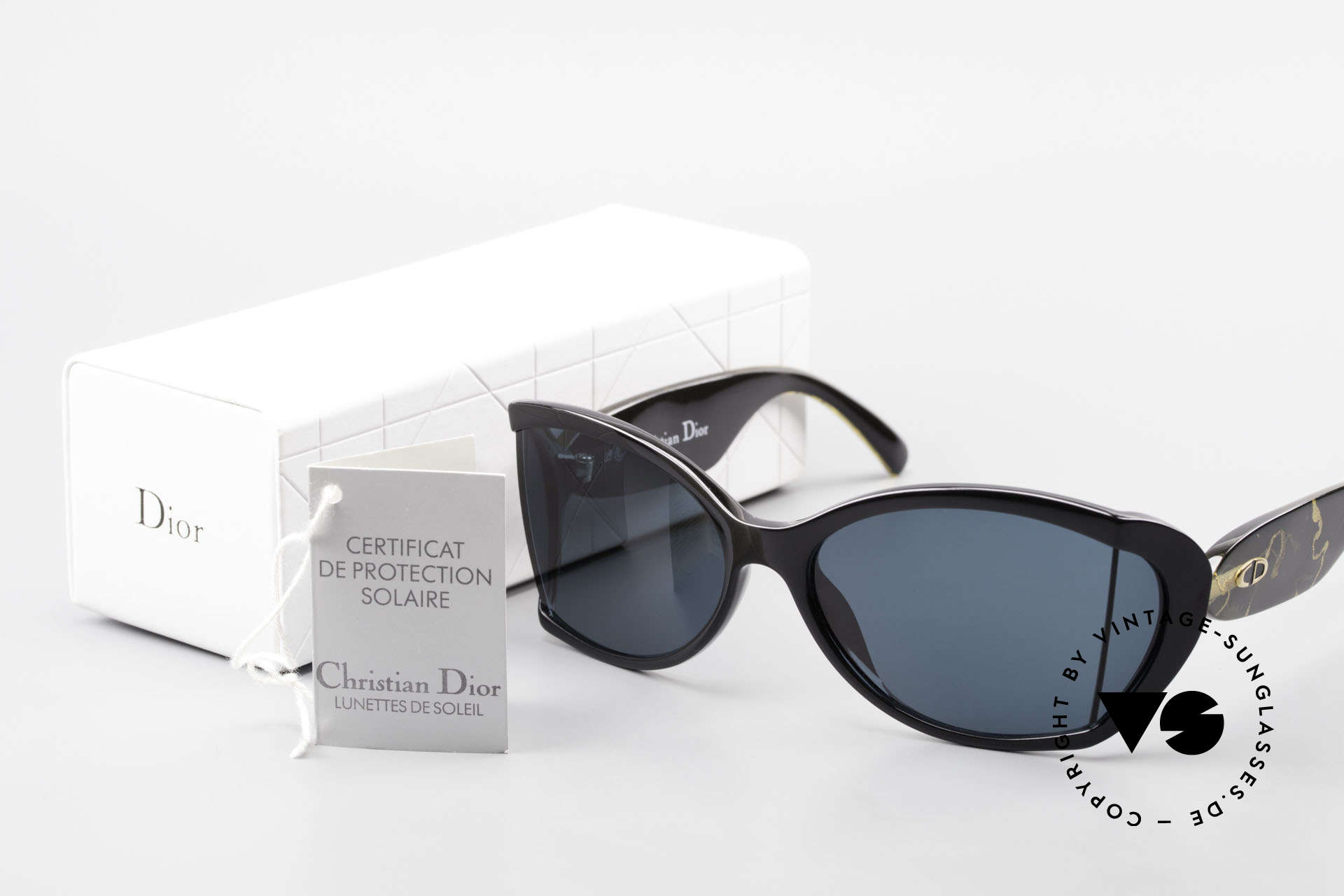 Christian Dior 2439 80's Ladies Shades Side Blinds, Size: medium, Made for Women