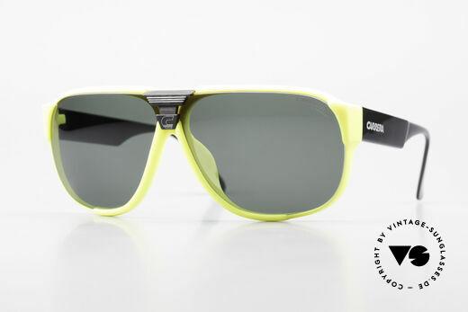 Carrera 5431 80's Sport Sunglasses Alpine Details