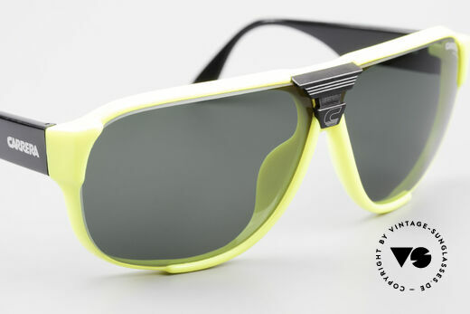 Carrera 5431 80's Sport Sunglasses Alpine, new old stock (like all our 80's Carrera sunnies), Made for Men