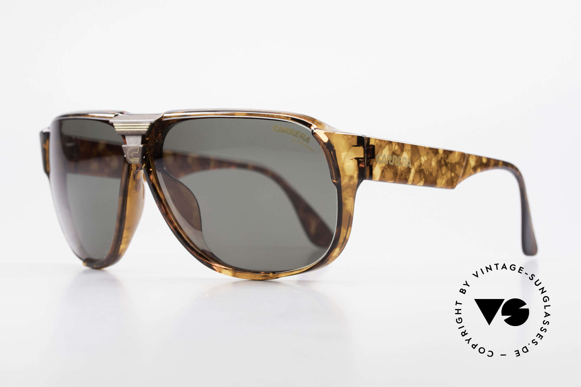 Carrera 5431 80's Alpine Changer Sunglasses, state-of-the-art lenses (2 sets) & with orig. case, Made for Men