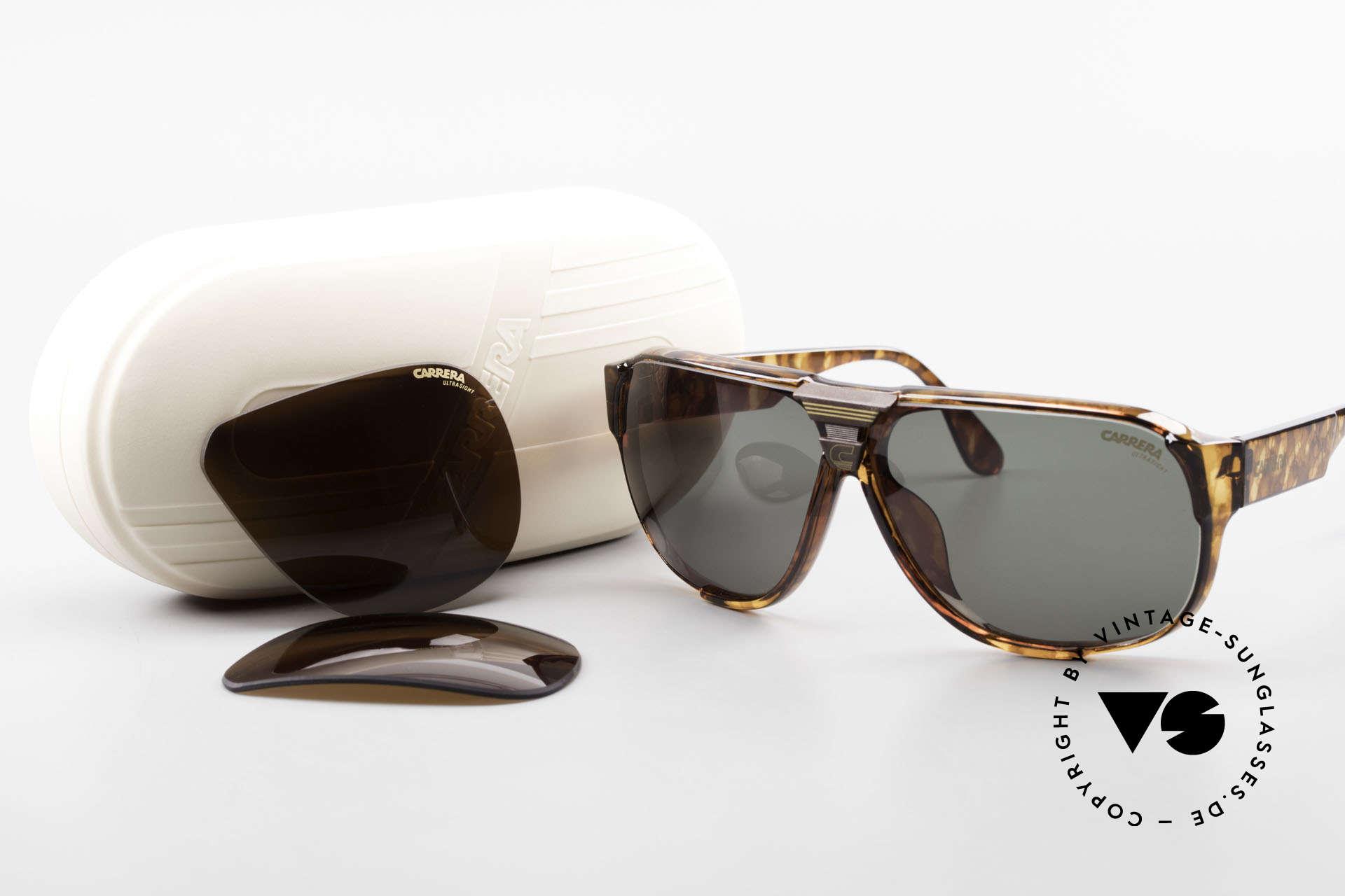 Carrera 5431 80's Alpine Changer Sunglasses, NO RETRO sunglasses; a rare vintage ORIGINAL, Made for Men