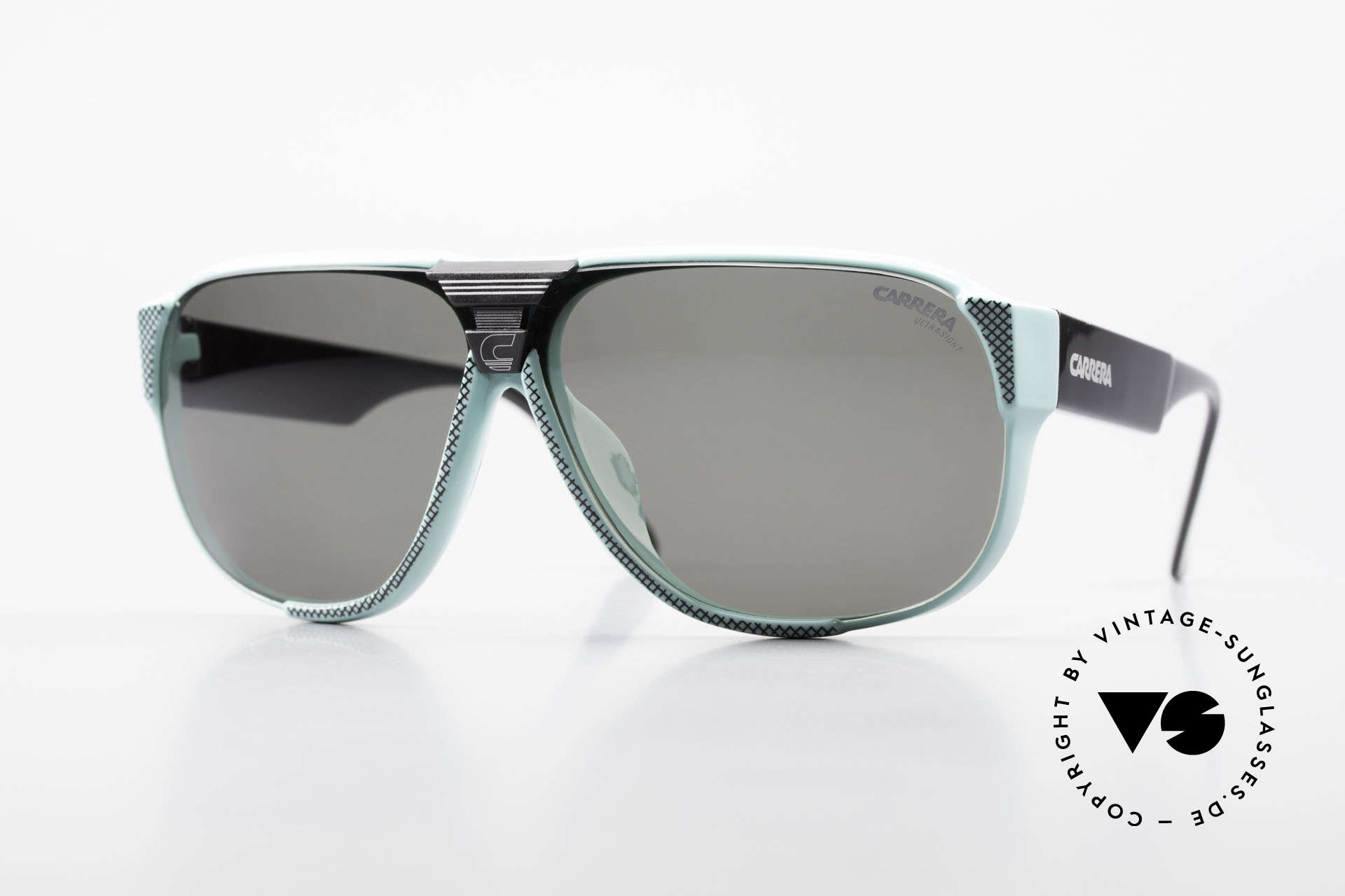 Carrera 5431 80's Vintage Sports Sunglasses, Carrera Alpine-Changer sports shades from 1988, Made for Men