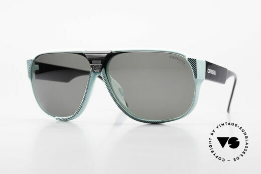 Carrera 5431 80's Vintage Sports Sunglasses Details