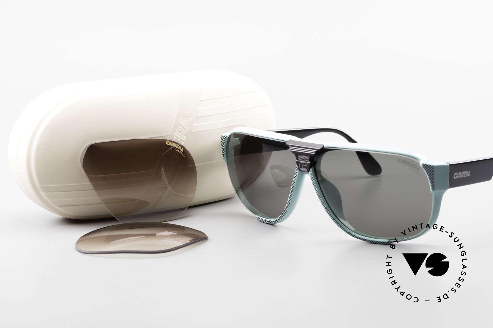 Carrera 5431 80's Vintage Sports Sunglasses, Size: medium, Made for Men