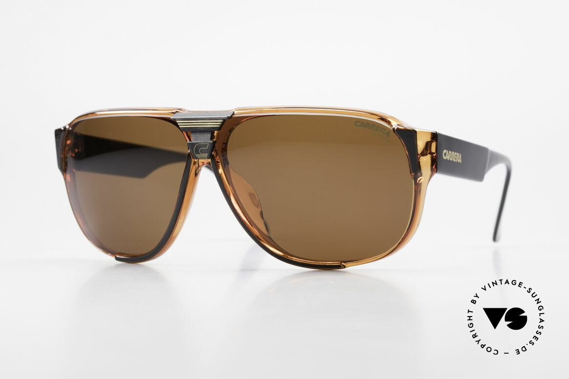 Carrera 5431 Men's 80's Sportsglasses Optyl, Carrera Alpine-Changer sports shades from 1988, Made for Men